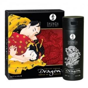 Крем для пар Shunga Dragon с эффектом ледяного огня, 60 мл