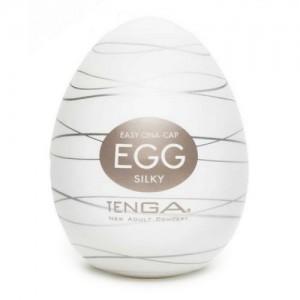 Мастурбатор яйцо TENGA SILKY