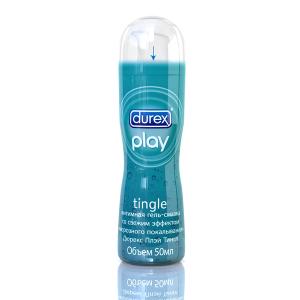 Гель-смазка Durex Play Tingle со свежим эффектом морозного покалывания 50 мл