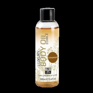Съедобное масло для тела с ароматом Корицы