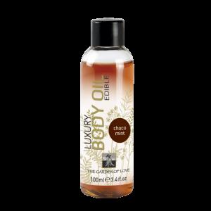 Съедобное масло для тела с Шоколадно-мятным ароматом