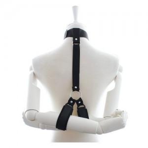 Нейлоновый бондаж шеи и рук