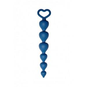 Анальная цепочка CORE синяя
