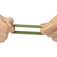 Набор эрекционных колец Power Plus Soft Silicone Pro Ring зеленого цвета