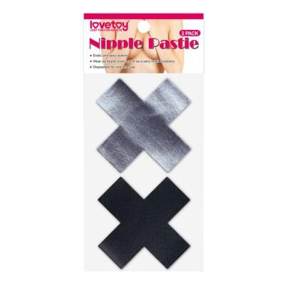 Пэстисы для груди Cross Pattern Nipple Pasties (2 Pack)