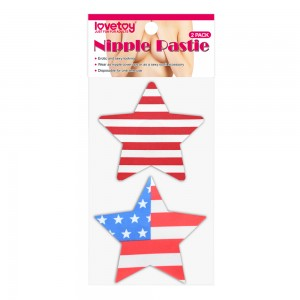 Пэстисы для груди Stars and Stripes Nipple Pasties (2 Pack)