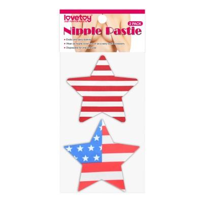 Пэстисы для груди Stars and Stripes Nipple Pasties (2 Pack)
