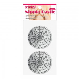Пэстисы для груди Reusable Spider Glittering Sexy Nipple Pasties