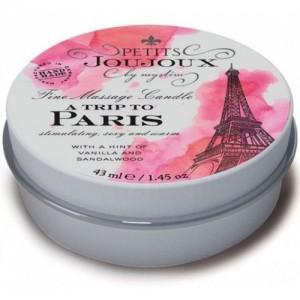 Массажная свеча Petits Joujoux Paris Refill с ароматом ревеня и амбры 33 гр