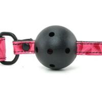 Силиконовый красный кляп Ball Gag 4,6 см