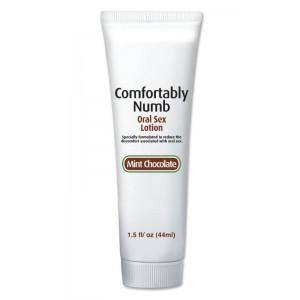 Лосьон для глубокого минета Comfortably Numb Oral Sex Lotion - Chocolate Mint 44 мл