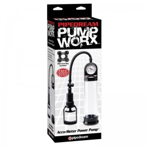 Вакуумная помпа с манометром Pump Worx Accu-Meter Power Pump