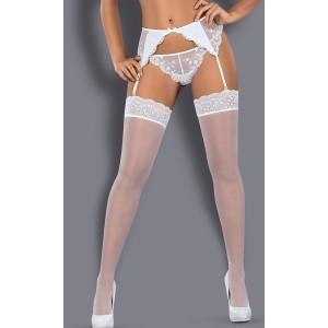 Белые чулки Etheria L\XL
