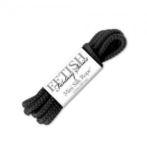 Бондажная верёвка FF Mini Silk Rope черная