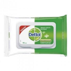Влажные салфетки Dettol антибактериальные, 50 шт