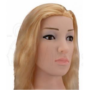 Кукла для секса с вибрацией 3D Face Love Doll