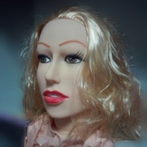 Надувная кукла блондинка в полный рост