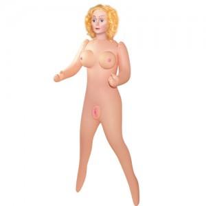 Надувная кукла с золотыми волосами