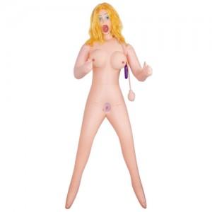 Кукла с золотистыми волосами с грушей Ice Fire Girl