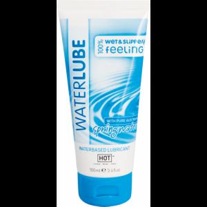 Гель-смазка на водной основе HOT Glide waterlube springwater 100мл