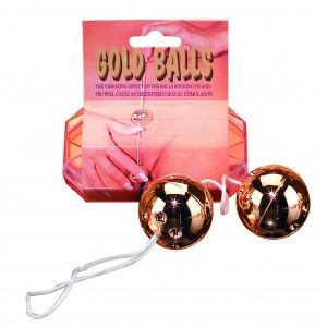 Вагинальные шарики Gold Balls 2pc. Set