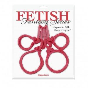 Фиксаторы японская верёвка FF Japanese Silk Rope Hogtie Red