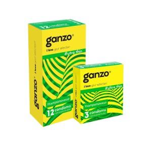 Презервативы Ganzo Ultra thin №12 (Ультра тонкие)