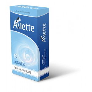 "Презервативы ""Arlette"" №12, Longer Продлевающие"