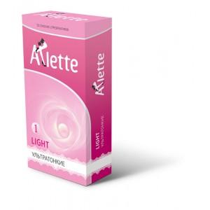 """Презервативы """"Arlette"""" №12, Light Ультратонкие"""