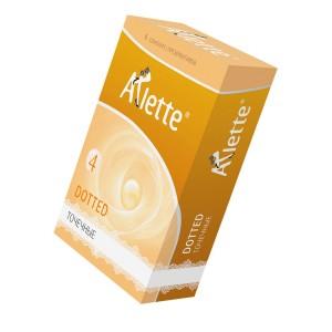 """Презервативы """"Arlette"""" №12, Dotted Точечные"""