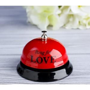 """Звонок настольный """"Ring for a love"""""""