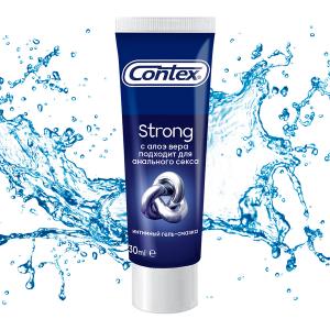 Гель-смазка Contex Strong для анального секса с регенерирующим эффектом 30 мл