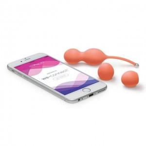Вагинальные шарики We-Vibe Bloom управляемые смартфоном
