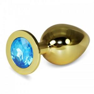 Анальная пробка Golden Plug Large Blue