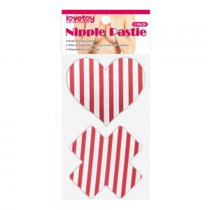 Пэстисы для груди Cross and Heart Nipple Pasties (2 Pack)