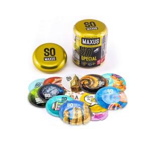 Презервативы Maxus Special №15 (точечно-ребристые)