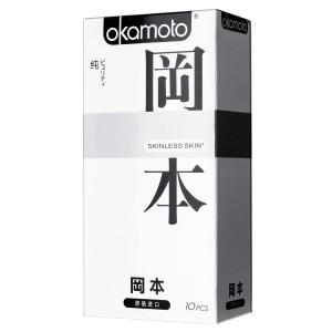 Презервативы Okamoto Skinless Skin Purity №10 (классические)