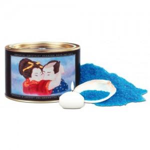 Соль мёртвого моря с лечебными свойствами + свеча Shunga Bath Salts Ocean Breeze 600 гр