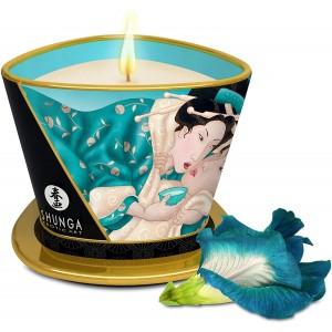 Массажная аромасвеча Shunga Цветы острова 170 мл
