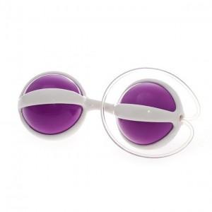 Анально-вагинальные шарики Be Mine Balls пурпурные