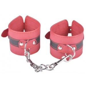 БДСМ красные наручники