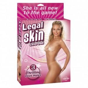 Кукла для секса надувная Legal Skin Love Doll
